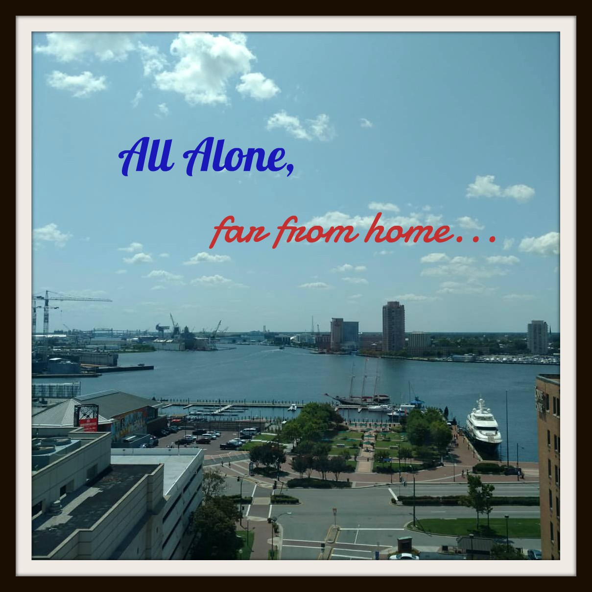 All Alone, Far from Home, Who are you?